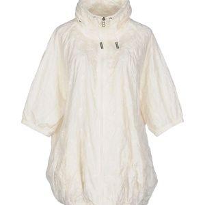 Jackets & Blazers - Techno Eyelet Rain Jacket