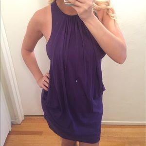 Susana Monaco purple dress