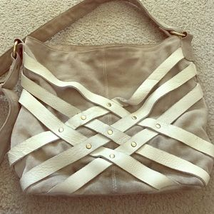 Urban outfitters leather and suede purse