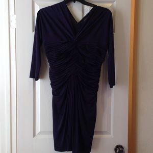 Tadashi Shoji Dresses & Skirts - Tadashi Shoji eggplant colored dress. Size L.