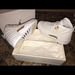 Air Jordan Retro 12 Ovo White size 9.5 Men