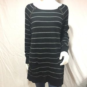 Caslon Sweaters - Caslon sweater tunic with zippers
