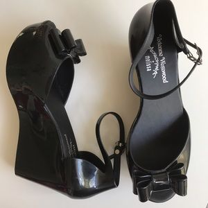 Vivienne Westwood Shoes - 💕VIVIENNE WESTWOOD Anglomania + Melissa Wedges💕