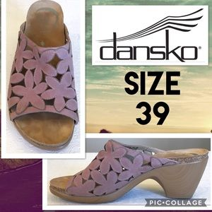Dansko Shoes - Gorgeous Dansko Leather Cork Sandal Size 39