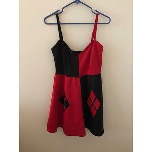 Hot Topic Dresses & Skirts - Original Harley Quinn Dress