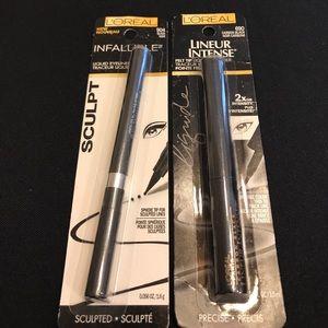 L'Oreal Other - L'Oréal Black Liquid Eyeliners. New