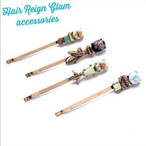 Karen1177 Accessories - NEW🔱 Vintage Inspired Hair Pin Accessories Set 🔱