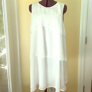 Mayoral Other - Mayoral Teen White Petal Dress NWT 18