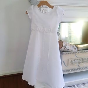 Rare Editions Other - Girls white formal dress