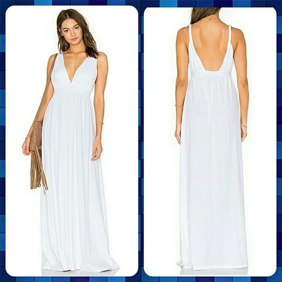 aeaa7239499e2 Anthropologie Dresses | Bobi Supreme Jersey Maxi Tank Dress | Poshmark