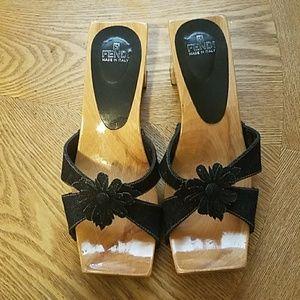 Shoes - Authentic Fendi slide on sandal