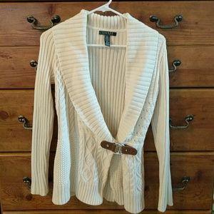 Lauren by Ralph Lauren Cable knit sweater
