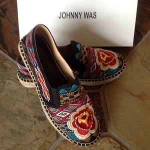 Johnny Was Shoes - 🍃💕HP NIB Johnny Was Aldorva Festival Espadrilles