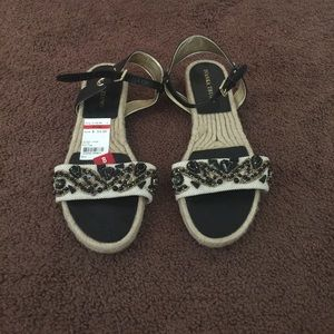 Brand new pair of sandals by Ivanka Trump.