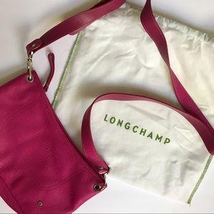 Brand New Pink Longchamp Crossbody Bag