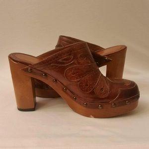 Via Spiga Shoes - 🎉SALE♥Via Spiga Wooden Clogs 7m♥