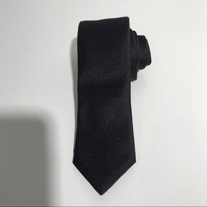 Corneliani Other - Corneliani Slim Silk Tie All Black