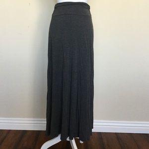 bobeau Dresses & Skirts - Gray maxi skirt