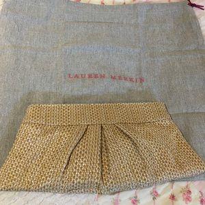 Lauren Merkin Handbags - Lauren Merkin woven summer clutch! NWOT.