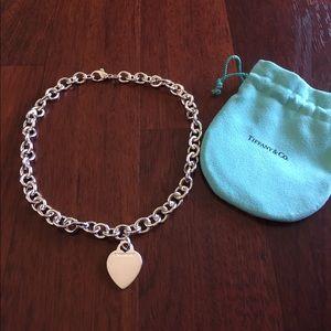 Tiffany & Co. Jewelry - Authentic Tiffany&Co Heart Necklace.