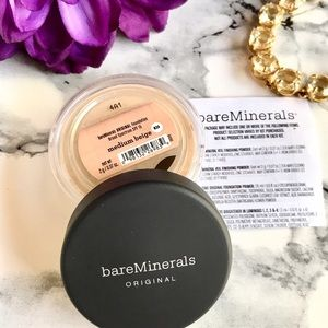 Bare Escentuals Other - 🆕 💕 BareMinerals ORIGINAL Foundation Medium Beig