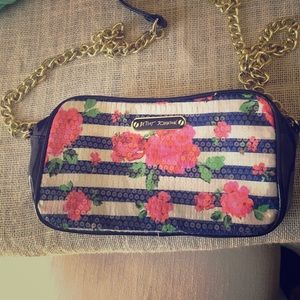 Floral cross body bag