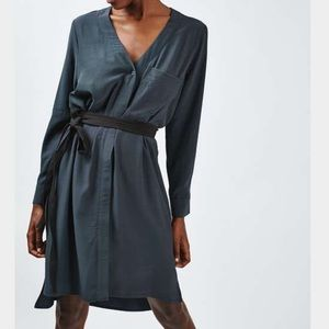 Topshop Dresses & Skirts - NWOT Topshop belted slouchy dress