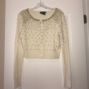 Rampage Sweaters - 🎊👛SEQUINED CROP CARDIGAN👛🎊