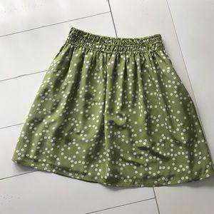 Anthropologie Corey Lynn Calter Polka Dot Skirt -M