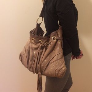Bulga Handbags - Bulga brown leather hobo bag