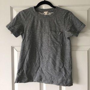J Crew sweatshirt tee grey
