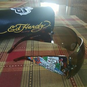 Ed Hardy Accessories - Ed Hardy glasses
