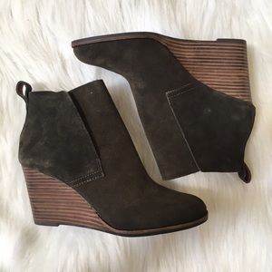 Lucky Brand Wedge Booties