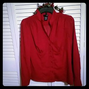 East 5th Tops - Womens East 5th Red Blouse