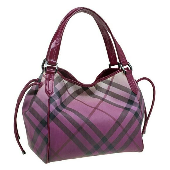 Burberry Handbags - Burberry ombre Nova check coated bilmore tote 1323e75b8704d