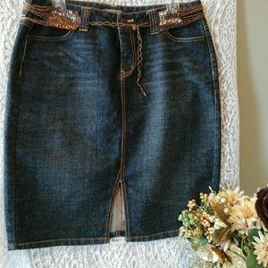Apt. 9 Dresses & Skirts - 👓Denim Summer skirt⌚