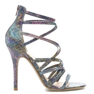 LAST CALL• 5.5 Joycelyn Strappy Mermaid Heels