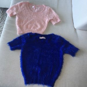 American Apparel Tops - Furry Sex short Top 99% new! $60 for both!! Final!