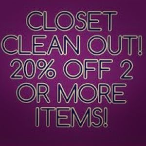 Other - 20% for 2 or more items!!!
