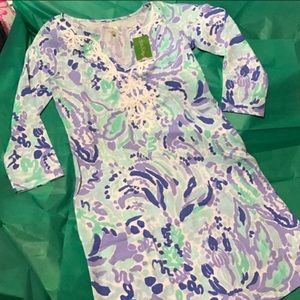 NWT Lilly Pulitzer Marina dress Lilly's Lilac