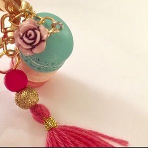 Accessories - Cute macaron tassel keychain. NWOT retail