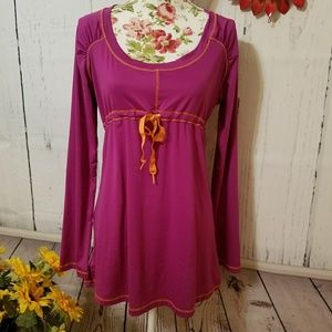 Great condition prAna swim cover, top, dress LARGE