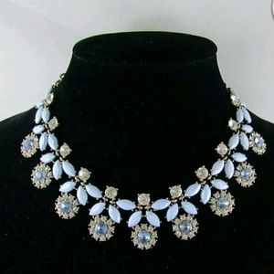 Stunning VTG Blue Statement Necklace