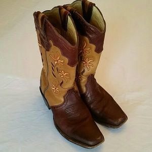 Rocky Shoes - Rocky Leather Cowboy Boots