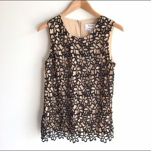 Lela Rose Tops - NWT Lela Rose NM + Target Guipure Lace Top