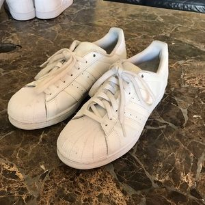 Adidas Shoes - Adidas SUPERSTARS TRIPLE WHITE shoes❗️✔️
