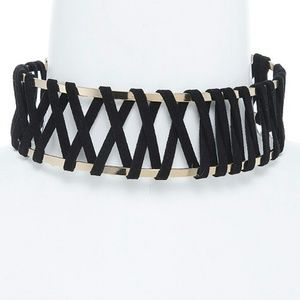 Jewelry - Thick Lace Choker