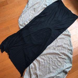 Helmut Lang Dresses & Skirts - Helmut Lang maxi skirt with high slit
