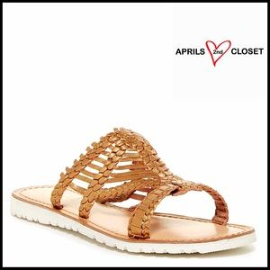 Rebels Shoes - ❗️1-HOUR SALE❗️LEATHER SANDALS Metallic