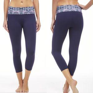Fabletics Pants - NWT Fabletics Salar Capri Fold-Over